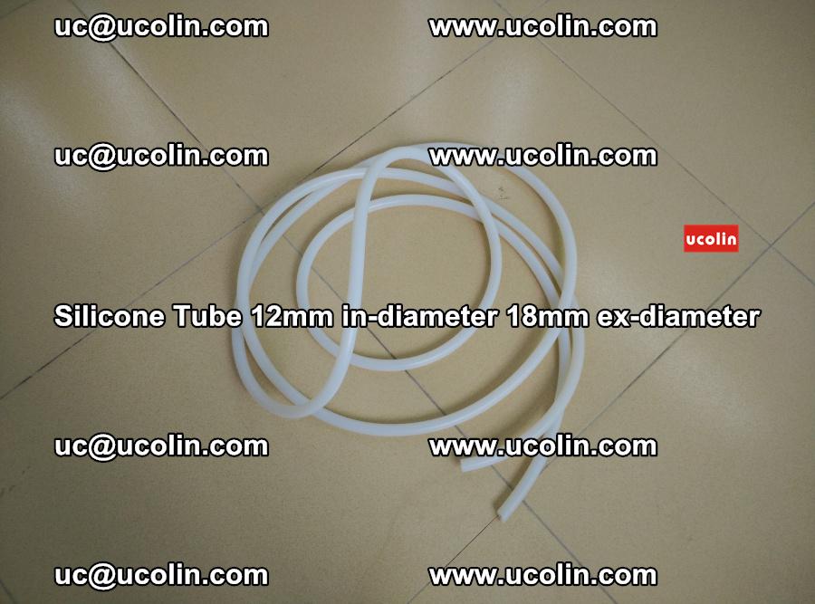 Silicone Tube for vacuuming EVA PVB SGP laminated glass glazing (28)