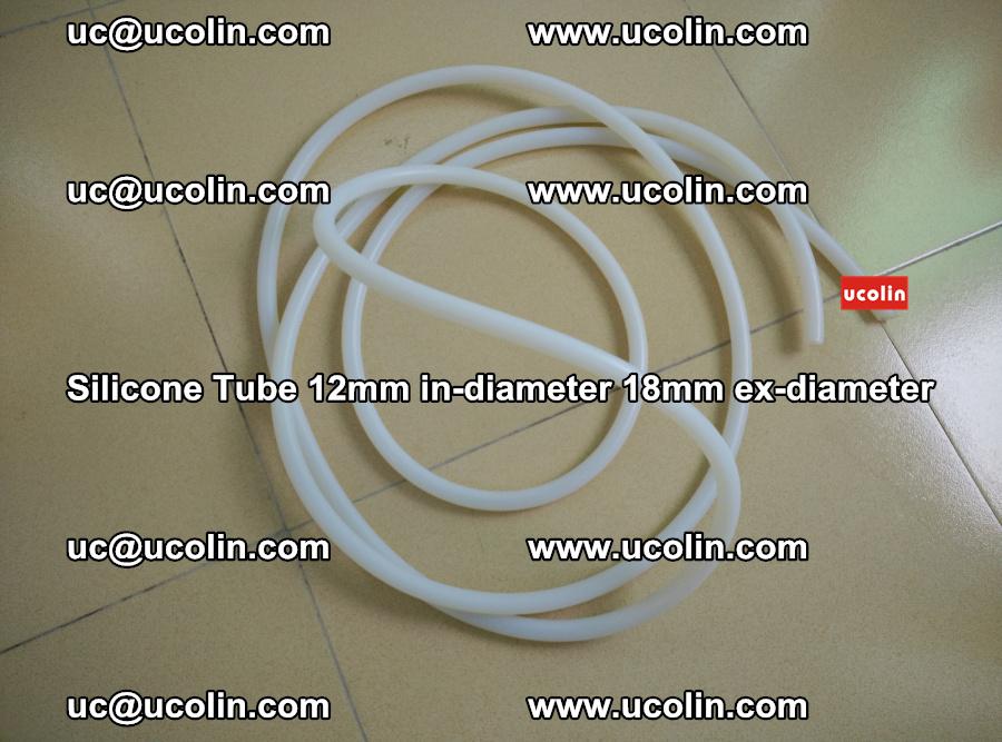 Silicone Tube for vacuuming EVA PVB SGP laminated glass glazing (33)