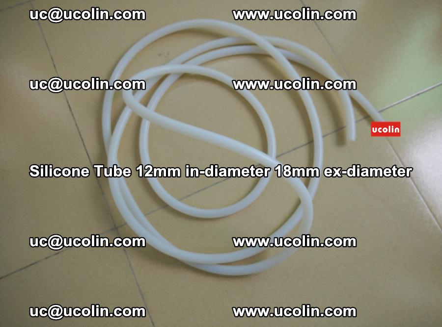 Silicone Tube for vacuuming EVA PVB SGP laminated glass glazing (41)