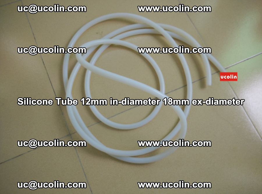Silicone Tube for vacuuming EVA PVB SGP laminated glass glazing (45)
