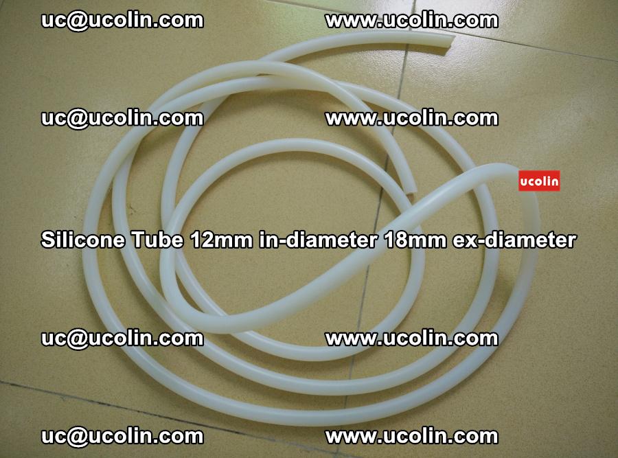 Silicone Tube for vacuuming EVA PVB SGP laminated glass glazing (71)