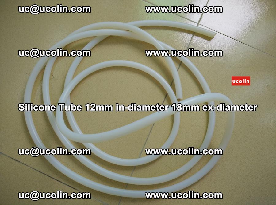 Silicone Tube for vacuuming EVA PVB SGP laminated glass glazing (77)