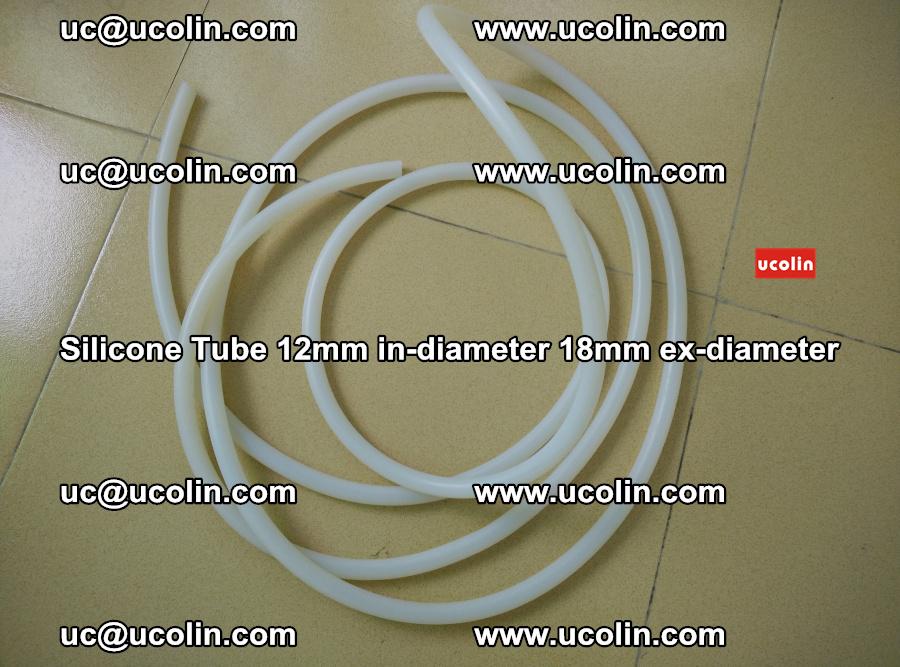 Silicone Tube for vacuuming EVA PVB SGP laminated glass glazing (88)