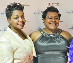 Catherine Long, Mentor Coordinator (left) and Nicole Ross, Program Manager at the GoodGuides Mentoring.