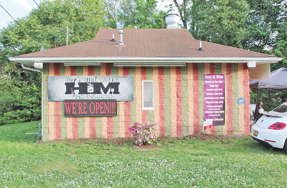 Hers & Mine retaurant on Salem Turnpike