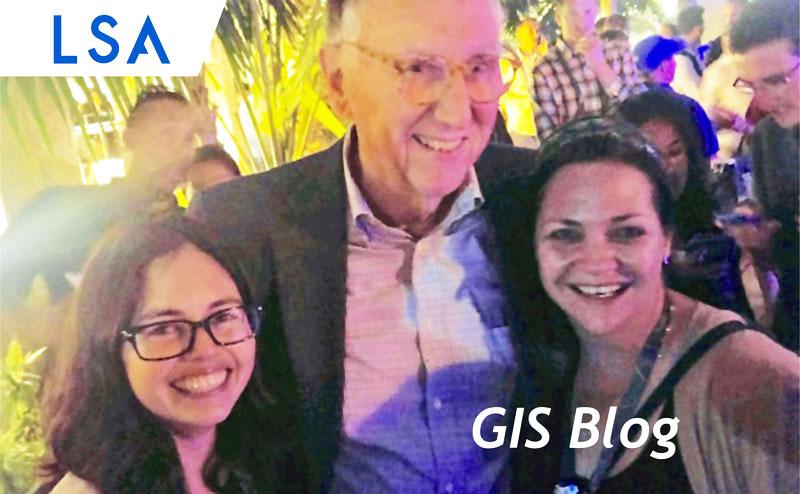 LSA GIS Attends The ESRI User Conference!