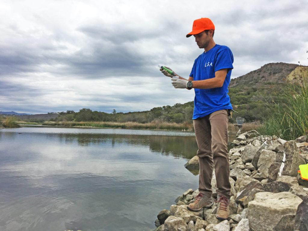 Rain Or Shine, LSA's Water Quality Team Is Ready