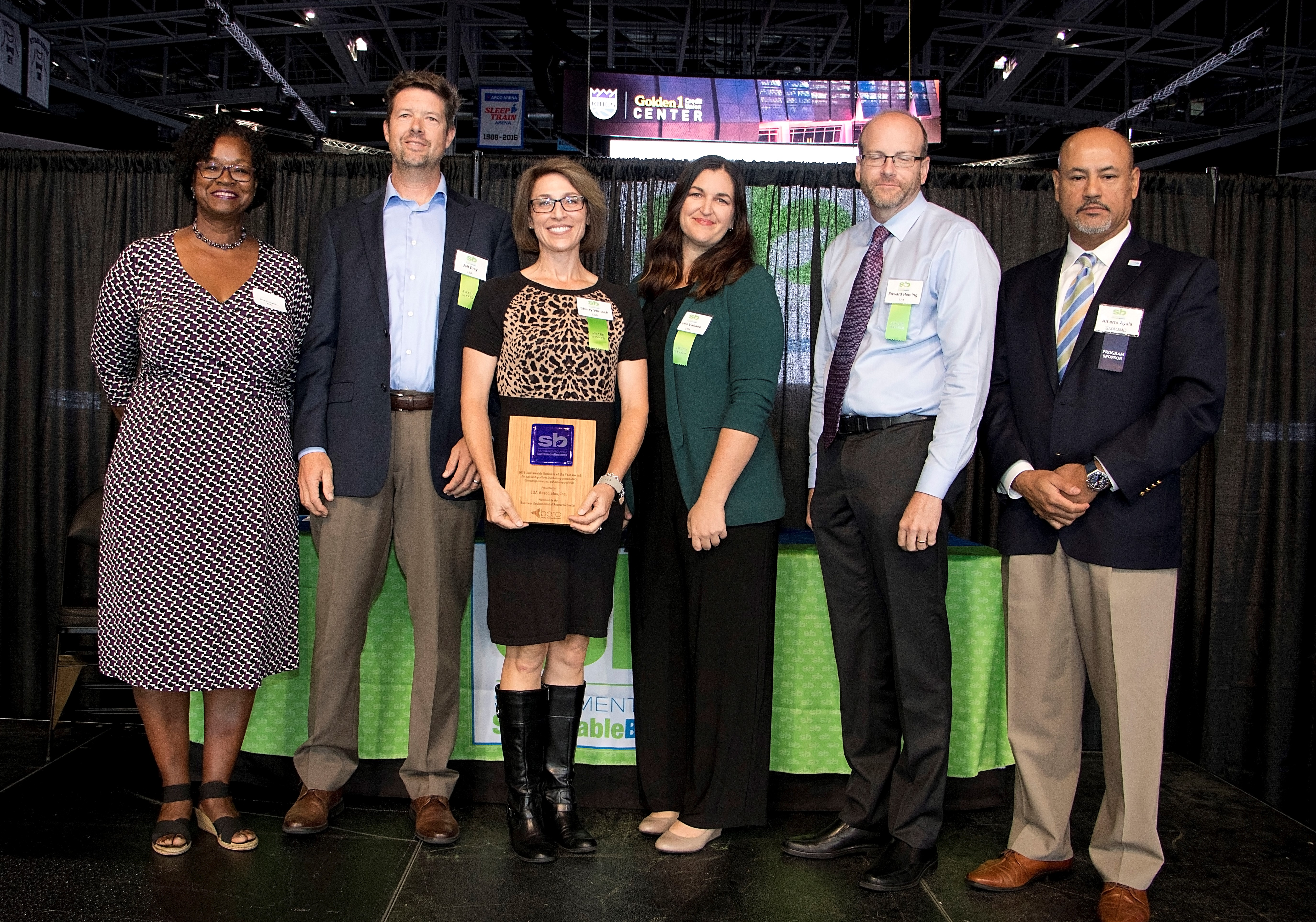 LSA Received A 2019 Sacramento Region Sustainable Business Of The Year Award