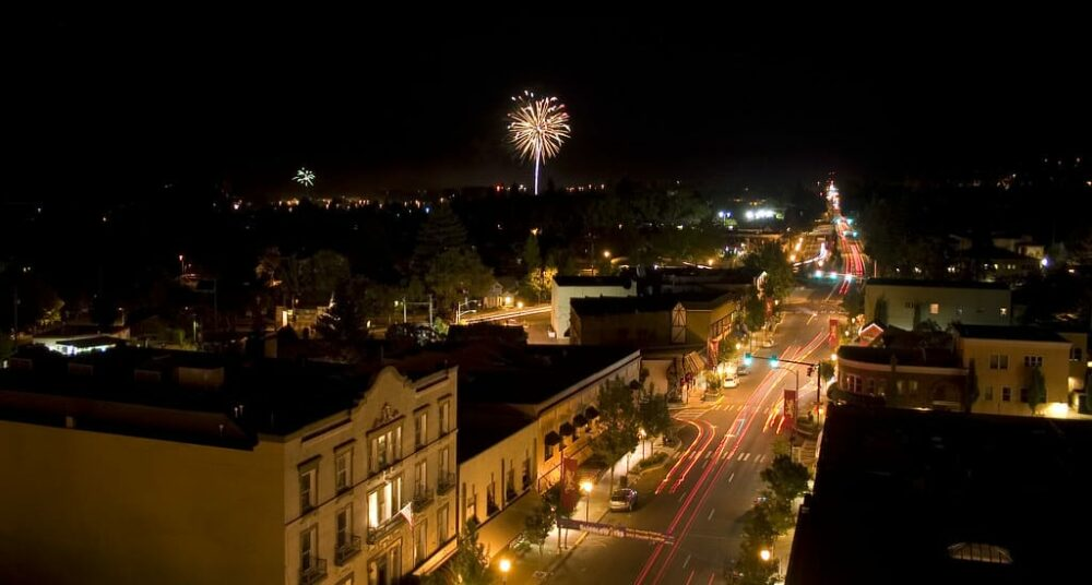 Ashland 4th of july fireworks