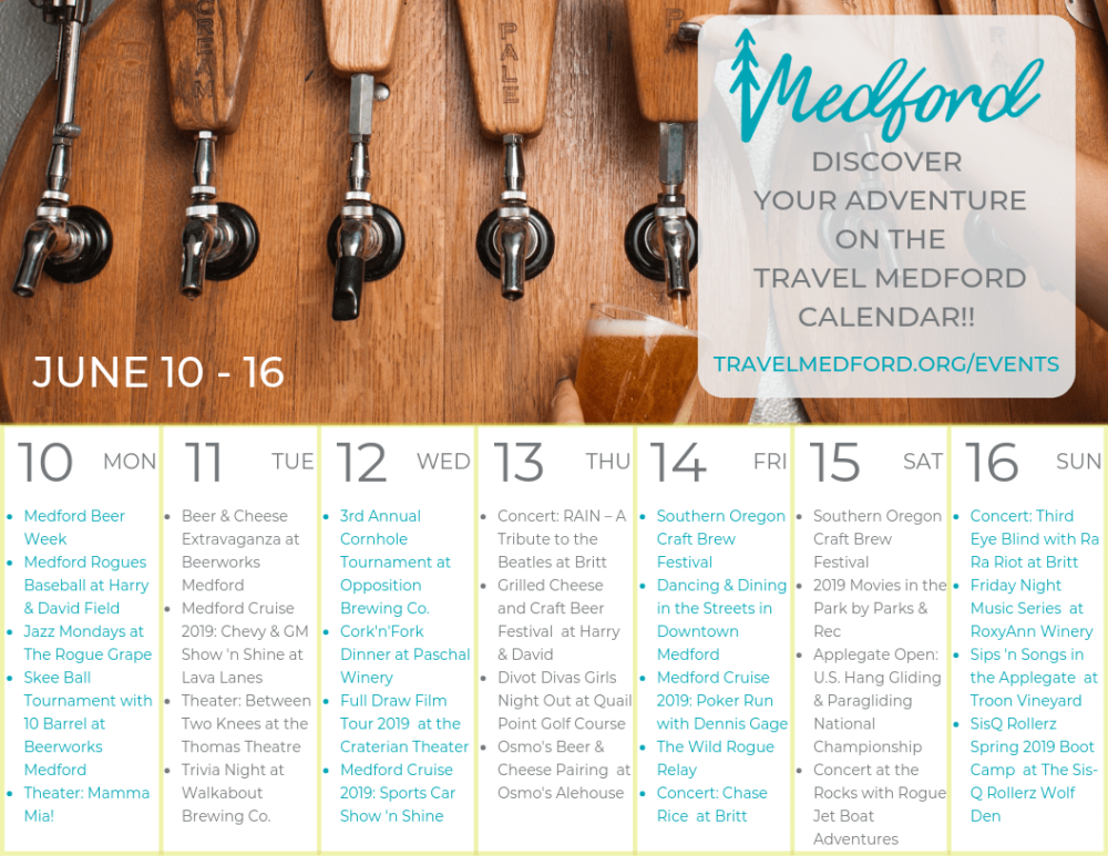 Medford Beer Week is a great thing to do in Medford
