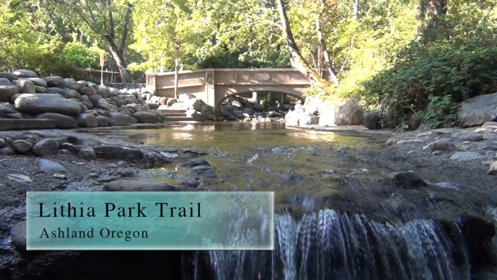 One of the best hikes in Ashland, Oregon is the Lithia Park Loop Trail