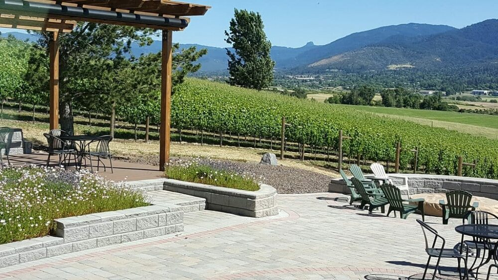 Dana Campbell Vineyards is a lovely place to spend the afternoon in Ashland Oregon