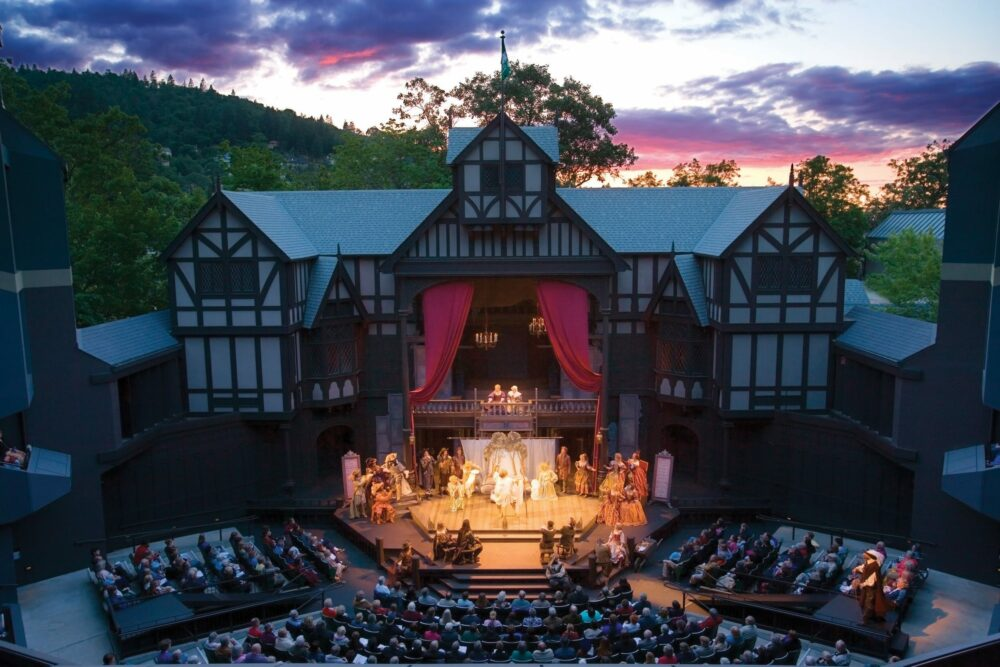 The Oregon Shakespeare Festival in Ashland, Oregon is a top rated attraction on TripAdvisor