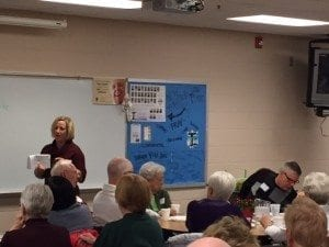IFL Executive Director, Maggie Dewitte had the opportunity to speak to the Sensational Seniors at St. Francis of Assisi Parish. She was able to talk about the great education Iowans for LIFE is offering through the many events we attends. It was both educational and uplifting!