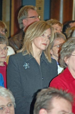 Joan Thompson at Prayer for Life Rally 2009