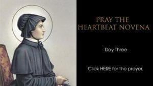 Heartbeat Novena day three