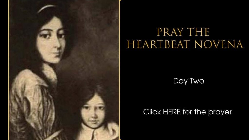 Heartbeat Novena Day Two