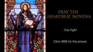 Heartbeat Novena day eight
