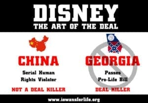 Walt Disney Company abortion