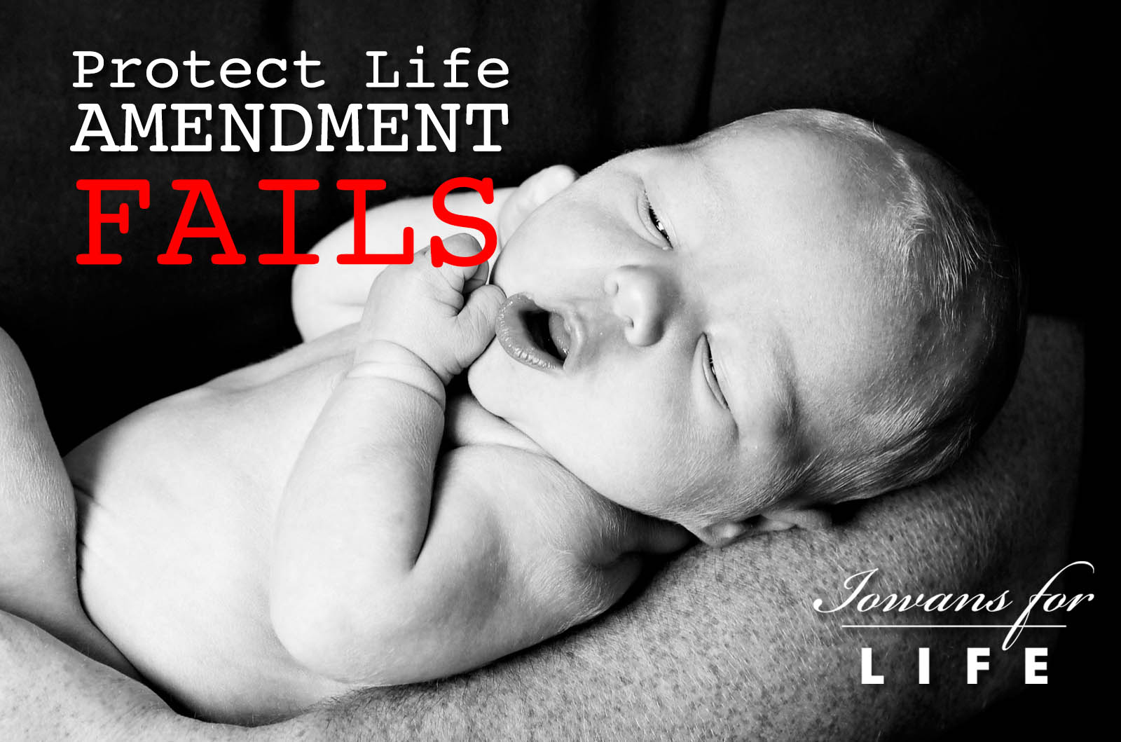 Protect Life Amendment failed