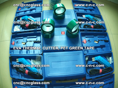 Funny Photos of EVA THERMAL CUTTER trimming EVALAM laminated glass (2)