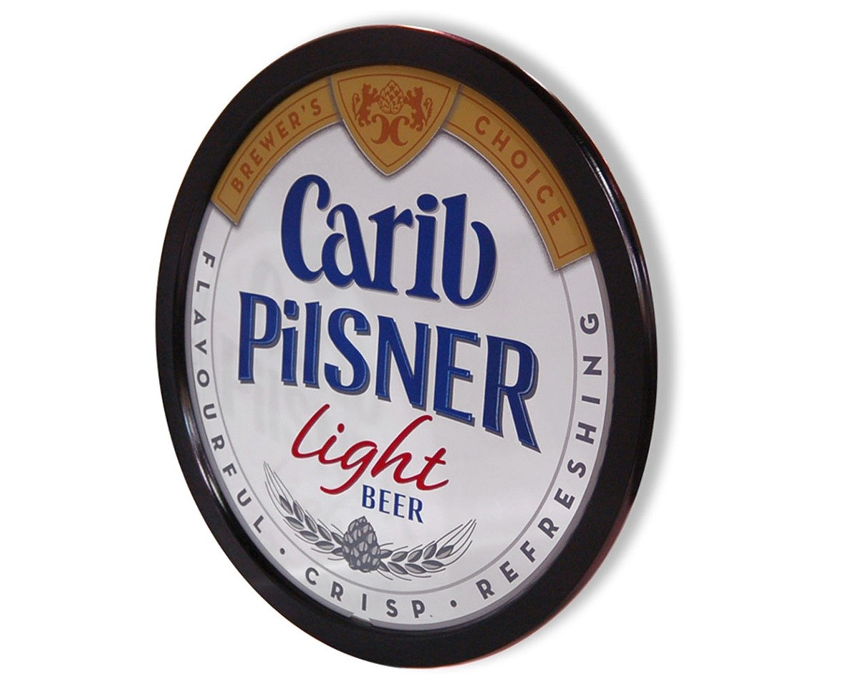 Carib Pilsner Beer Mirror