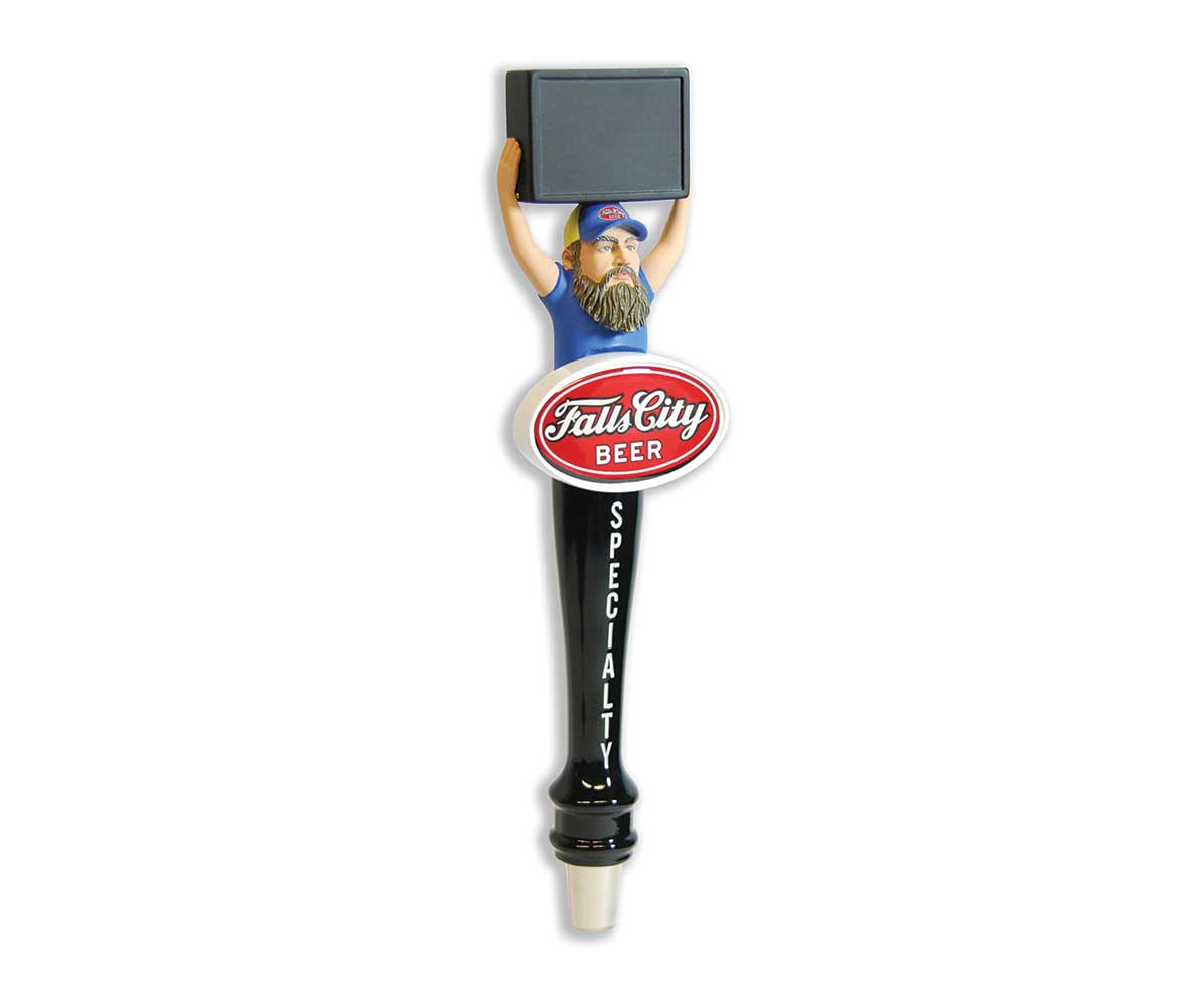 Falls City custom resin tap handle