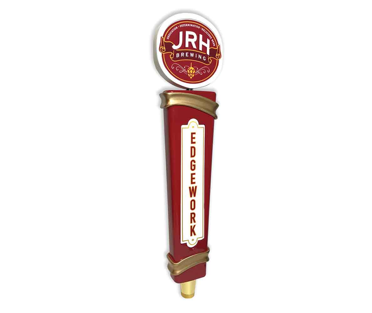 JRH Brewing custom resin tap handle