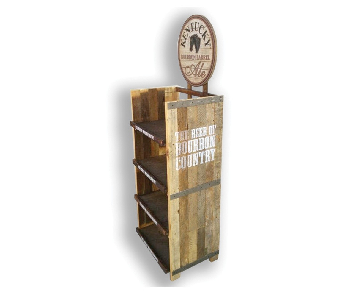Kentucky Custom Wood Beer Display