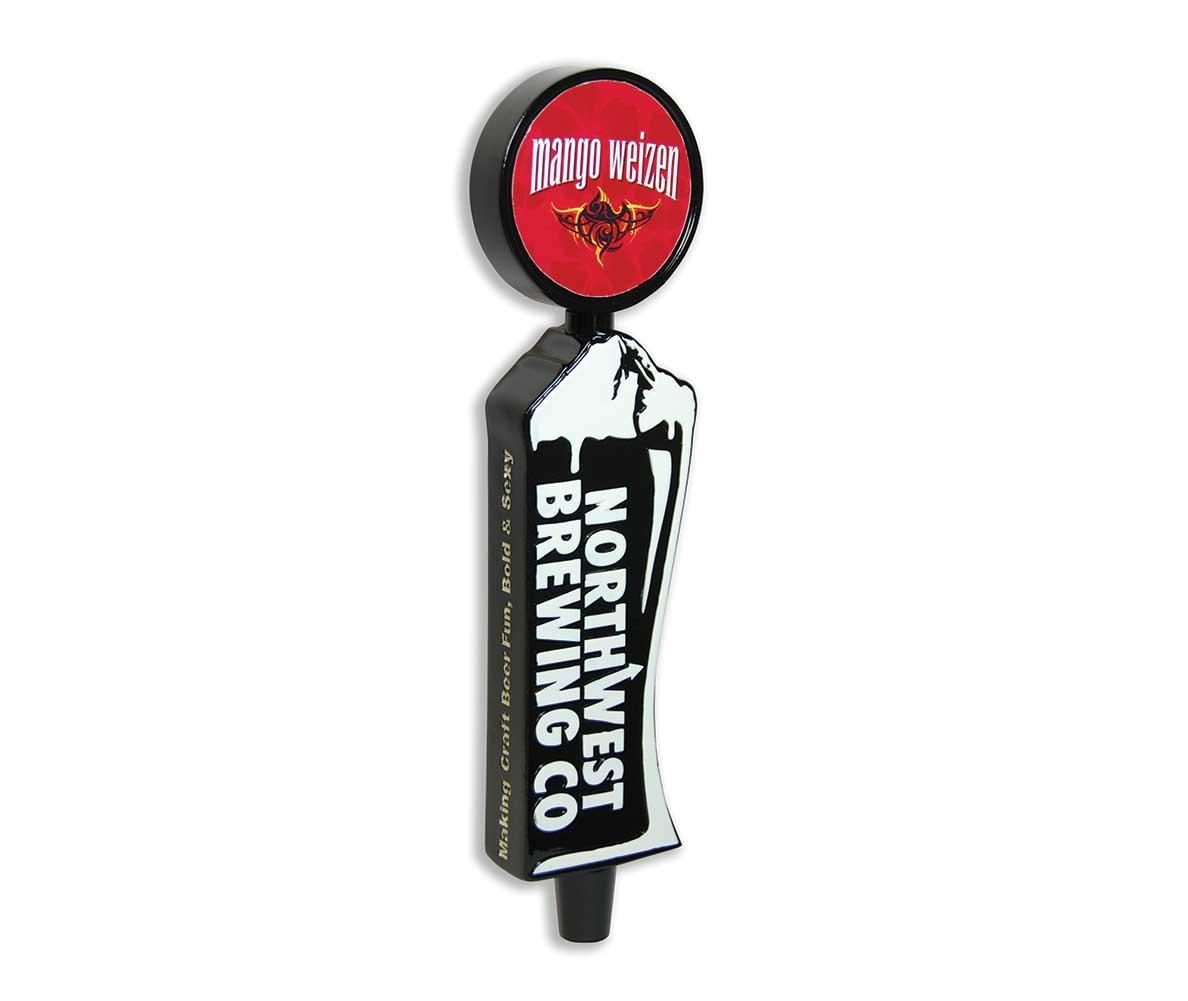Northwest brewing custom tap handle