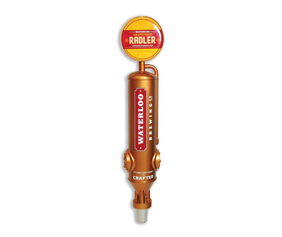 Waterloo custom tap handle