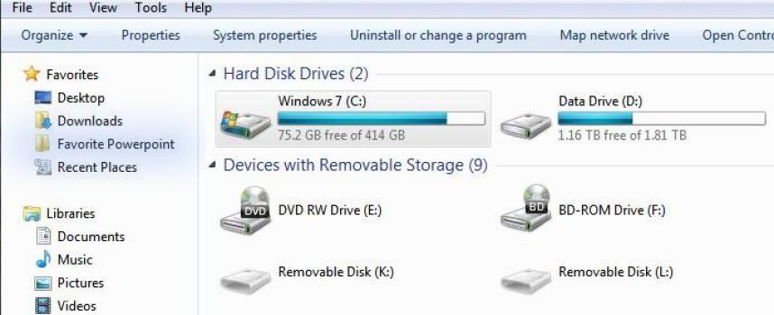 Add Your Favorite Folders to Windows File Explorer