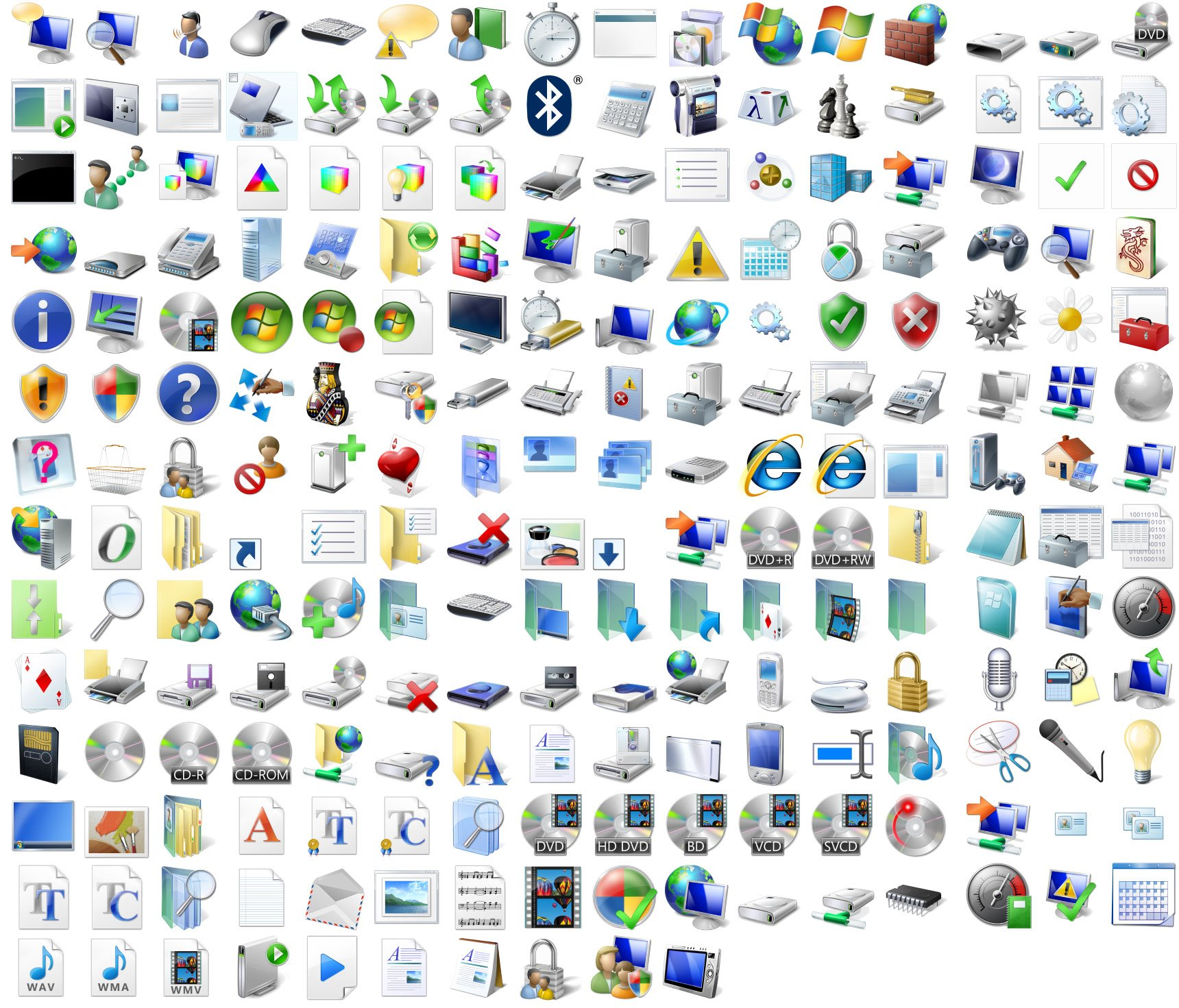 Hot PC Tips - sample icons