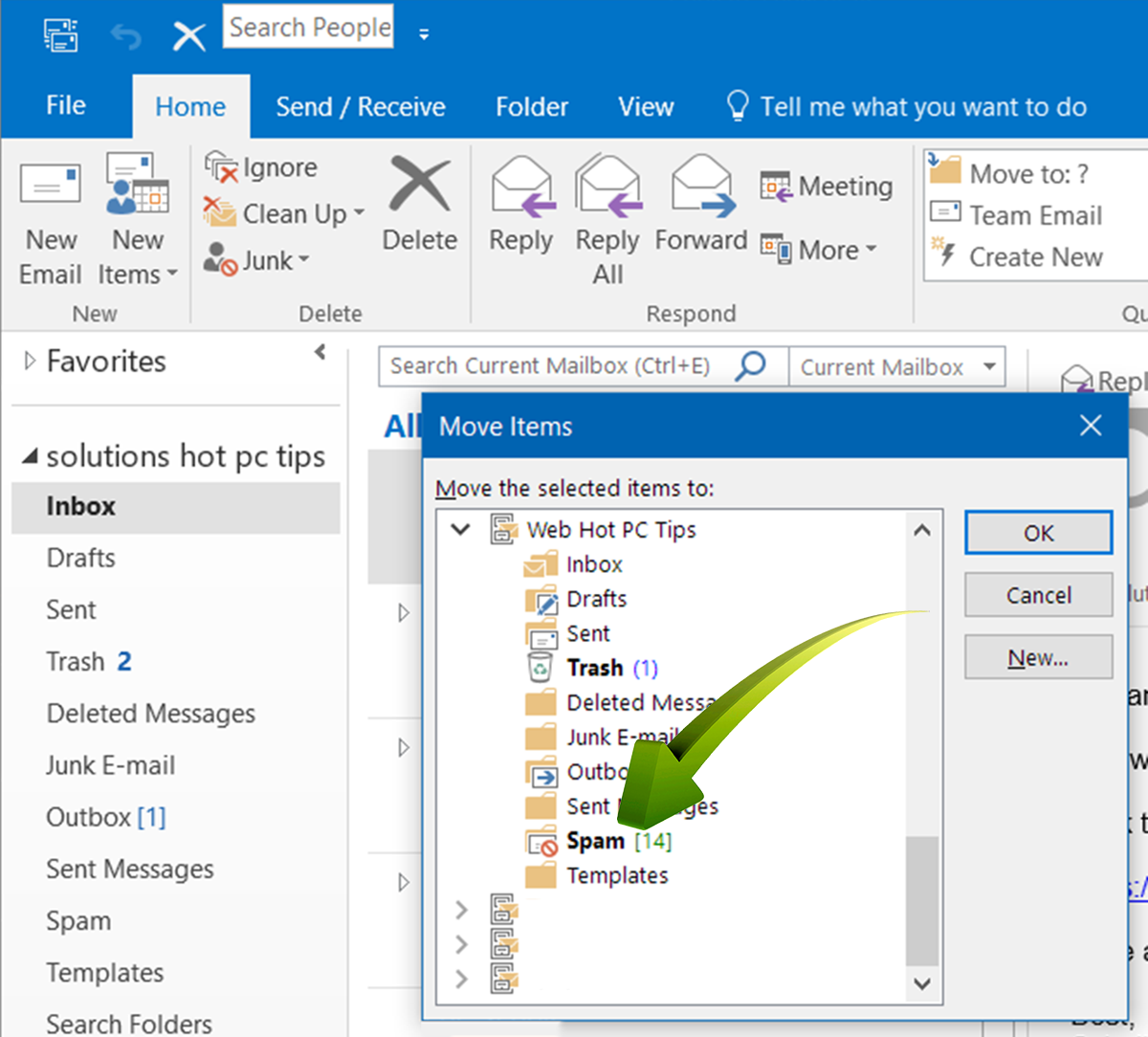 www.HotPCTips.com Outlook TIPS (3)