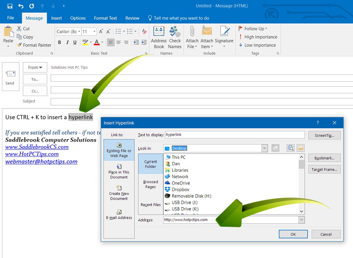 www.HotPCTips.com Outlook TIPS (5)