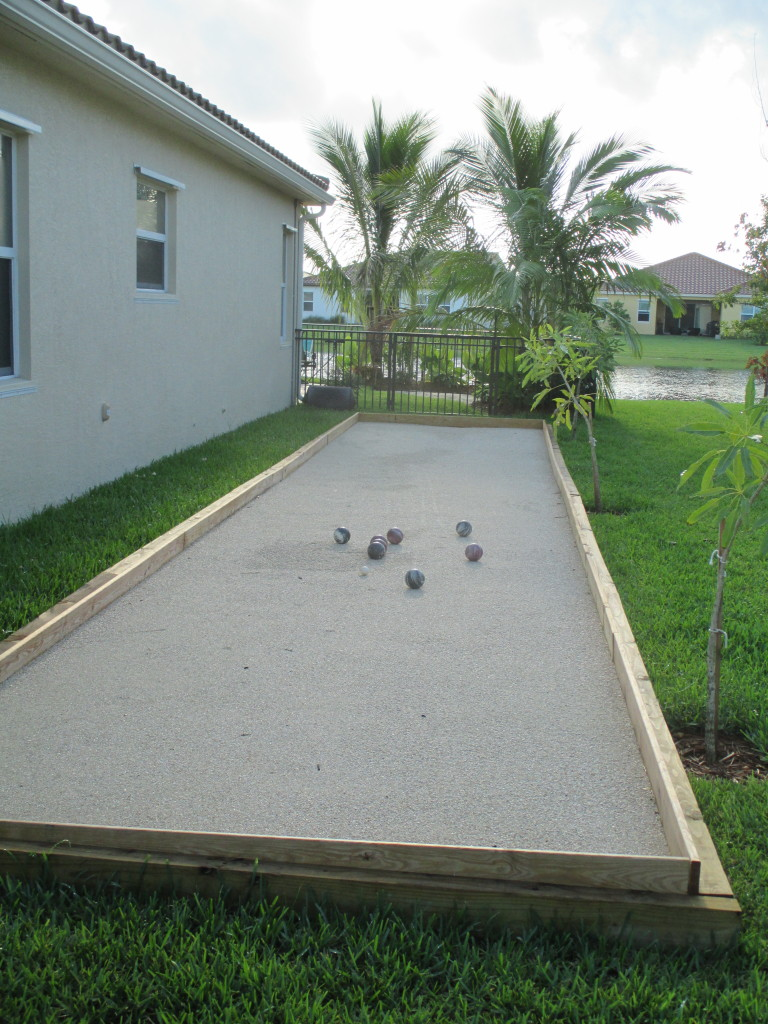 bocci court, residential, west palm beach