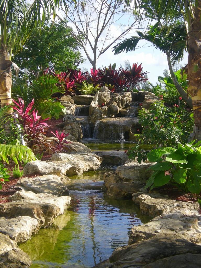 Resort, Park Scale Waterfall & Landscape Project