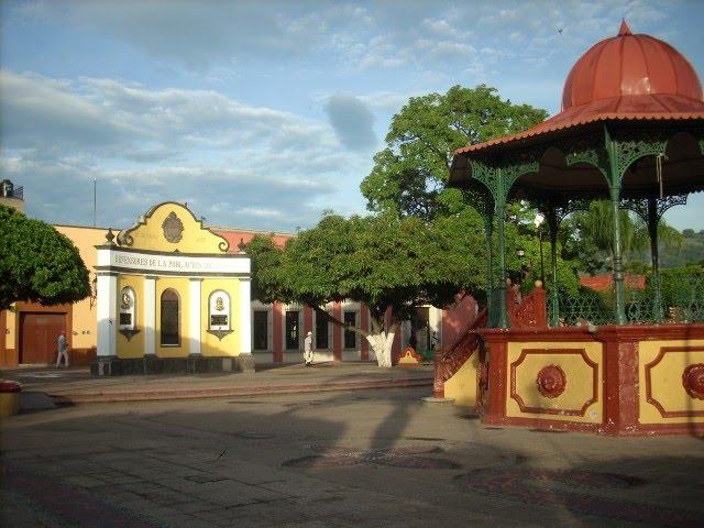 Kiosco de Tequila Jalisco Mexico