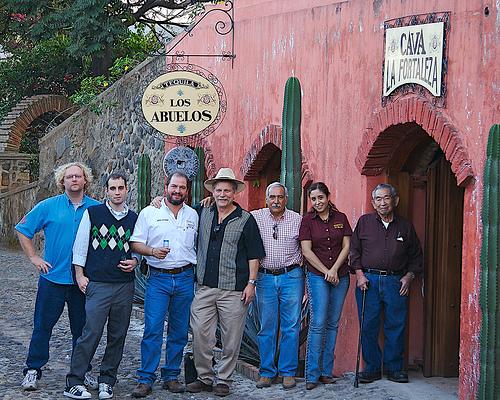 Tequila Los Abuelos de Sauza