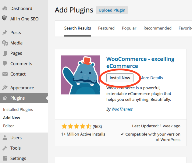how to sell products on wordpress