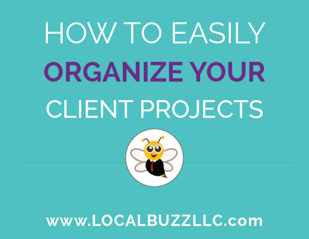how to easily organize your customer projects