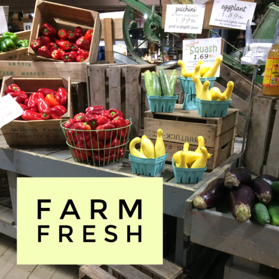 Farm Stand Shopping: Healthy Fresh Foods Perfect for 21 Day Fix