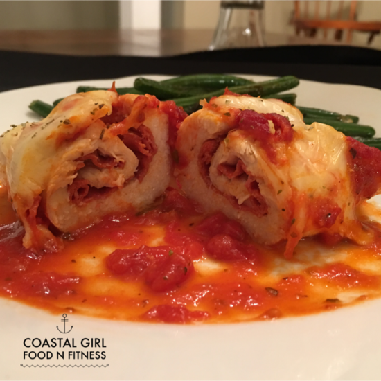 Pizza Stuffed Chicken Roll-Ups: Easy and Impressive!
