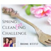 "Spring Clean""EAT""ing Challenge! Commit to 21 Days of clean eating! Clean up your diet and refresh your body!"