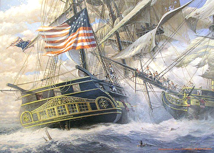 """Brodheads and the U.S.S. Constitution """"Old Ironsides"""""""