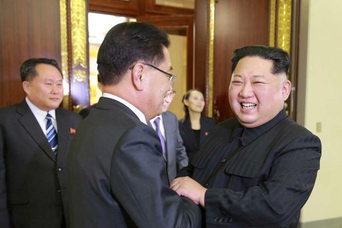"Trump and Kim Jong Un should meet at the Korean armistice agreement ""table"" of 1953"