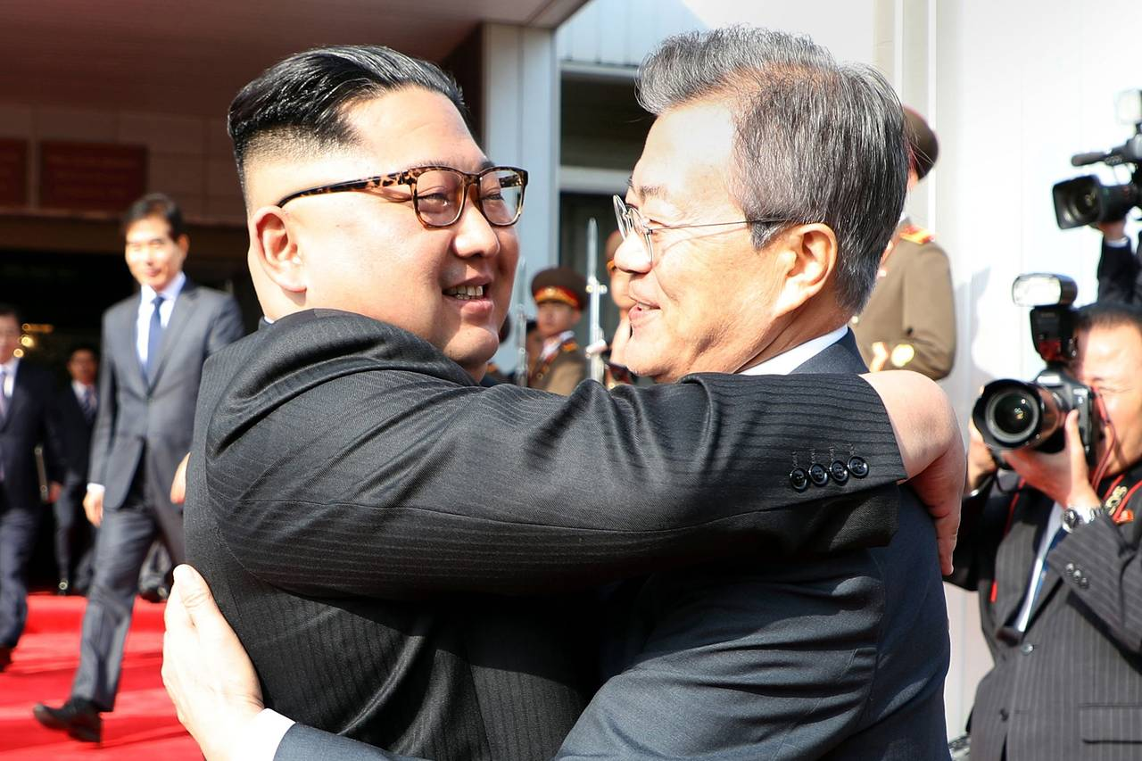 Moon Jae-In and Kim Jong Un take matters into their own hands