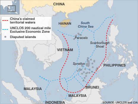 Is North Korea running interference for the China imperialism over the Spratly Islands?