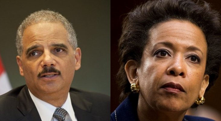 Eric Holder and James Clapper starting to freak out