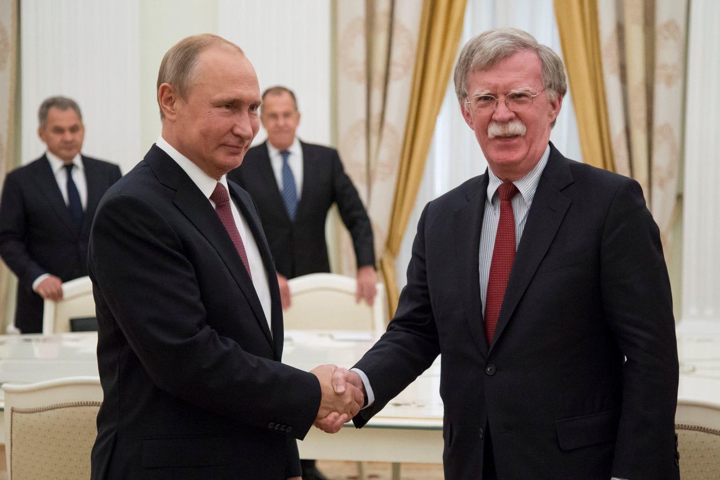 John Bolton paving the way for Trump/Putin meeting